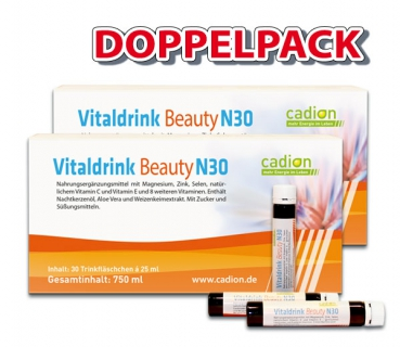 Sparpack 2xVitaldrink Beauty N30 (30x25ml)