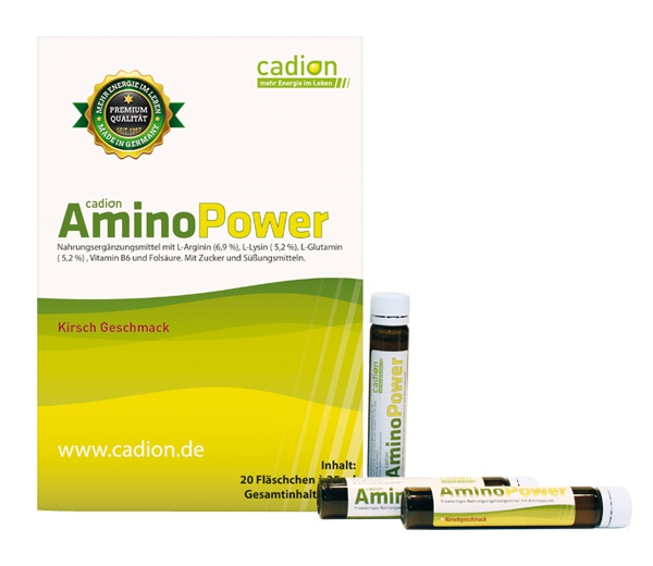 Amino Power (Pckg. 20 Trinkampullen je 25ml)