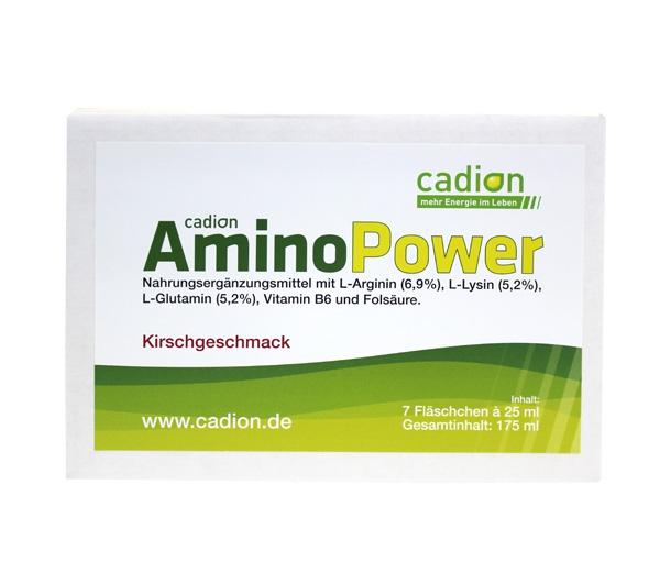 Amino Power (Pckg. 7 Trinkampullen je 25 ml)